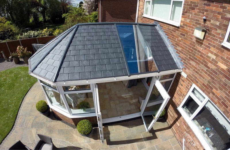 Anglian Home Improvements solid roof replacement