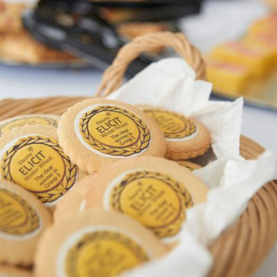 Image of Elsoms branded biscuits