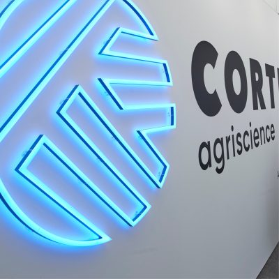 Image of Corteva Stand at Cereals 2018