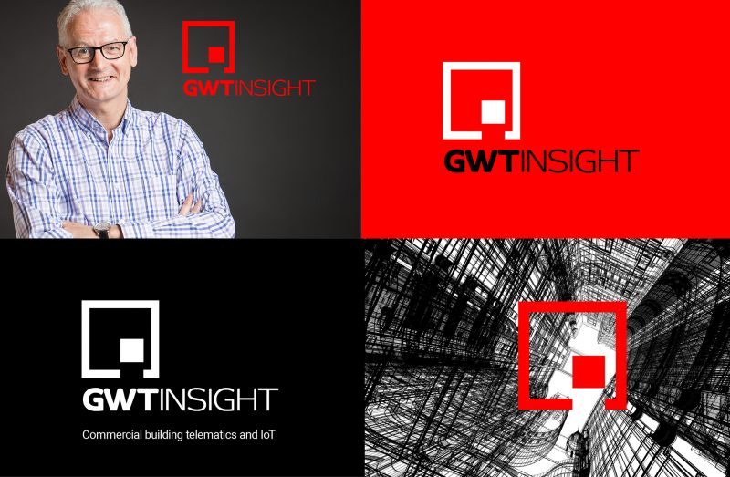 A montage of GWT Insight's brand and people