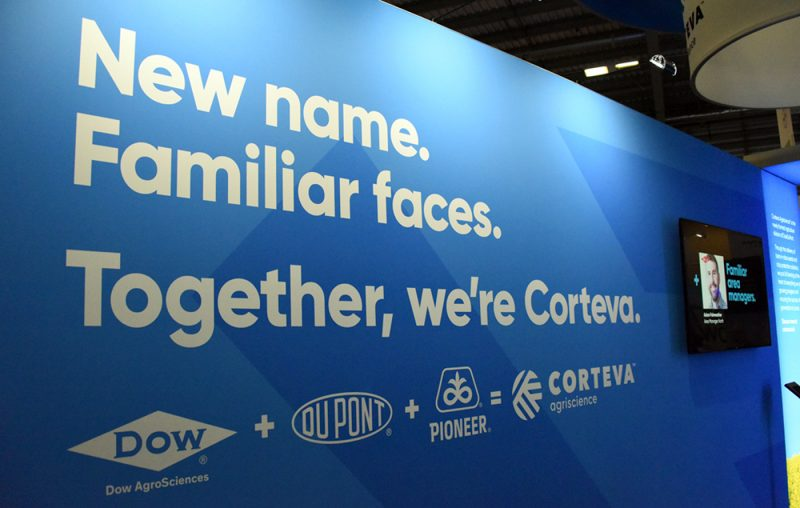 UK brand launch campaign at exhibition