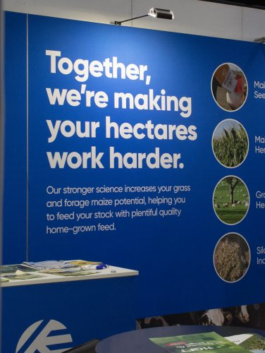 UK brand launch campaign at Dairy trade show event