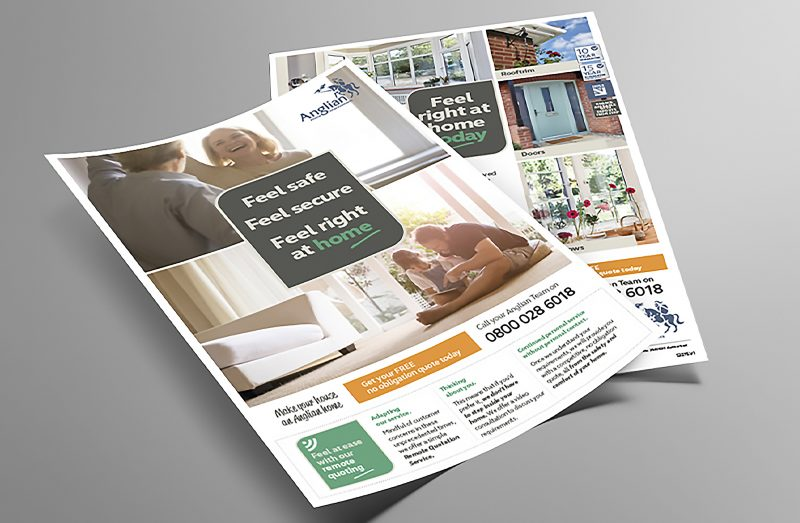 Anglian Home Improvement Brand Response Campaign in print