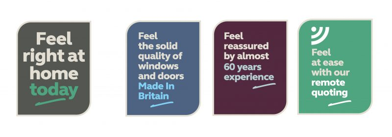 Anglian Home Improvement Brand Response Campaign icons