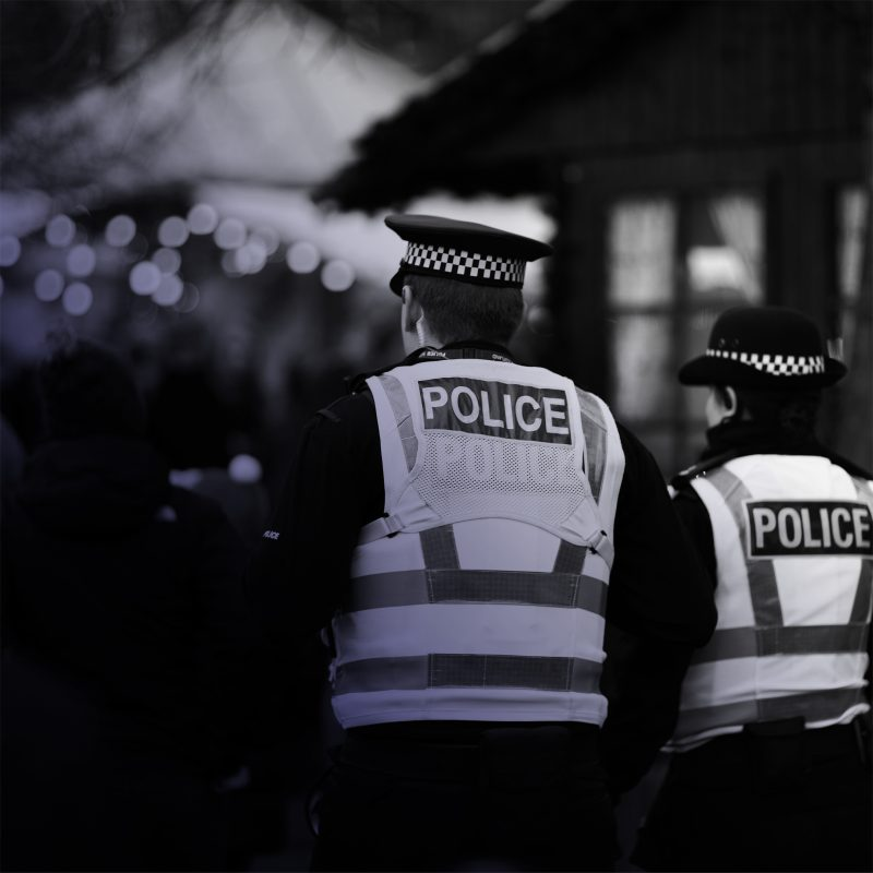 Image of police officers - The Point campaign win